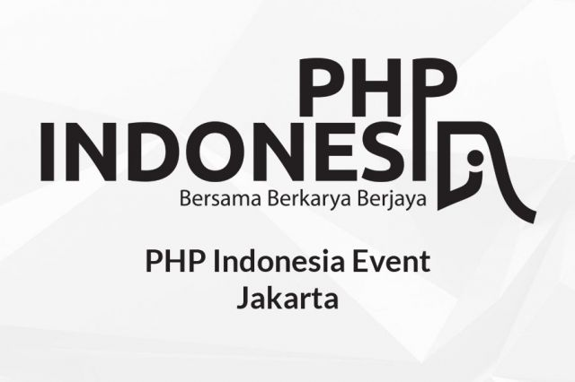 PHP Indonesia Event Jakarta